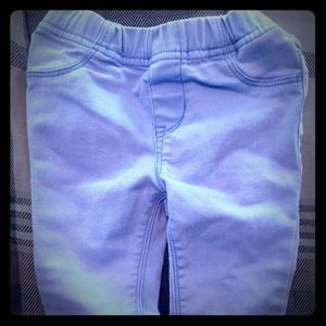 Baby Toddler Old Navy Jeggings Light Purple